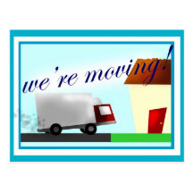 We're Moving Postcard!