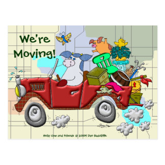 We're Moving! Post Cards