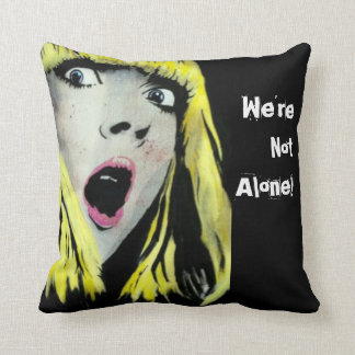 'We're Not Alone!' American MoJo Pillows