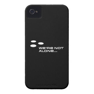 We're Not Alone... iPhone 4 Case-Mate Case