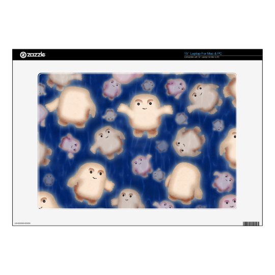 We're not fat, just Adipose Decal For Laptop