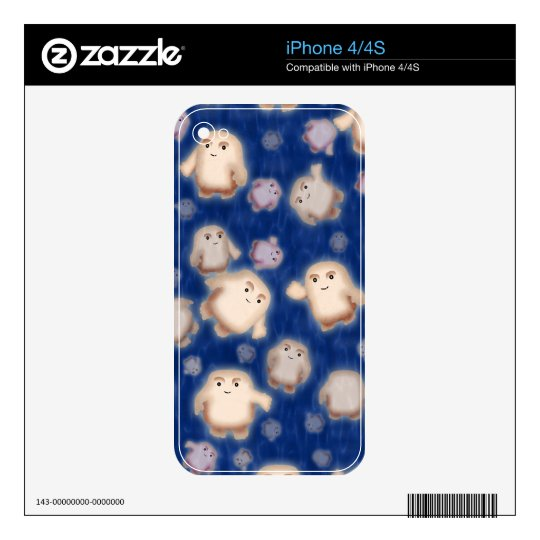 We're not fat, just Adipose Decal For The iPhone 4S