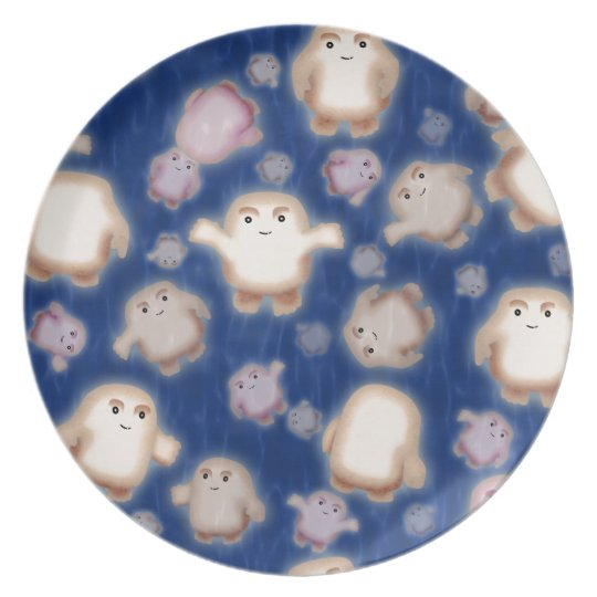 We're not fat, just Adipose Melamine Plate