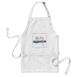 WE'RE NOT OLD... by April McCallum Adult Apron