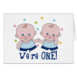 We're One Boys Card