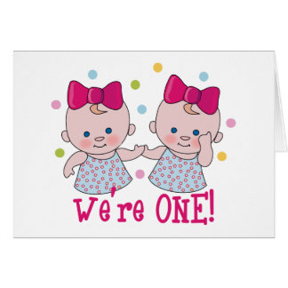 We're One Girls Card