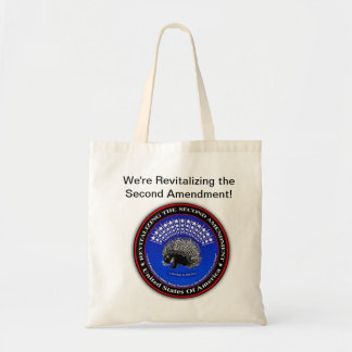 We're Revitalizing the Second Amendment BudgetTote Canvas Bags