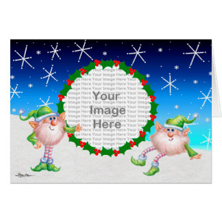 We're Surrounded By Flakes! Greeting Cards
