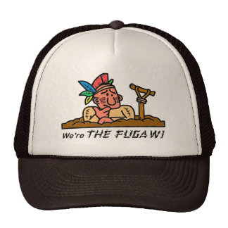 We're THE FUGAWI - Two Tone Cap Mesh Hat