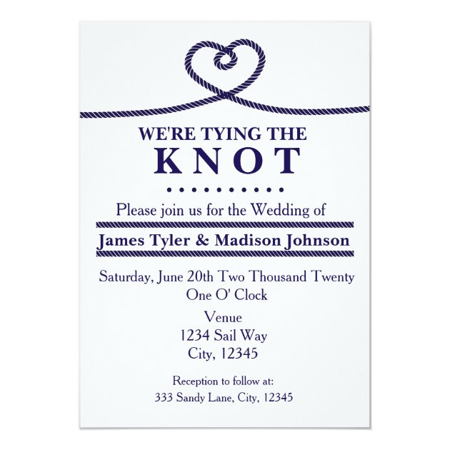 we re tying the knot wedding invitations wording 28 images tying