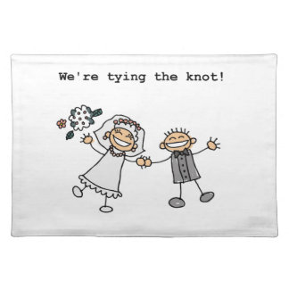 We're Tying the Knot Place Mat