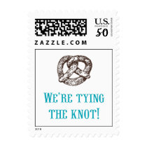 We're tying the knot! Postage
