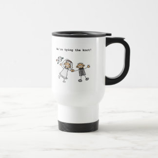 We're Tying the Knot Travel Mug