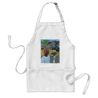Were You Really A Soldier Miss Williams Adult Apron