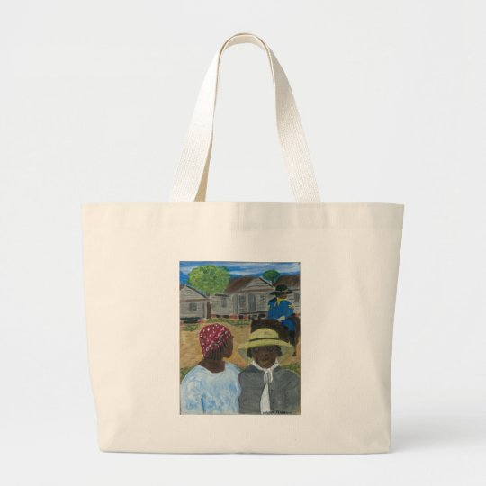 Were You Really A Soldier Miss Williams Large Tote Bag
