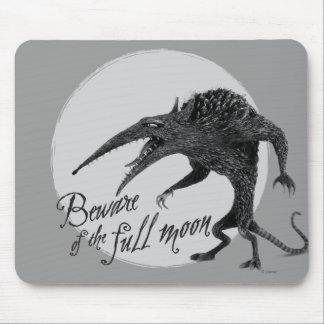 Wererat: Beware of the Full Moon Mousepad