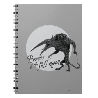 Wererat: Beware of the Full Moon Spiral Note Book