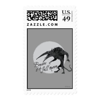 Wererat: Beware of the Full Moon Stamps