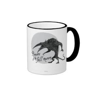 Wererat: Beware of the Full Moon Ringer Mug