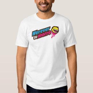 Werevertumorro logo t-shirt
