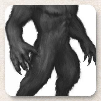 Werewolf #2 beverage coaster
