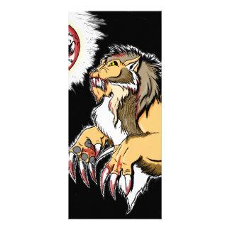 Werewolf 2 customized rack card