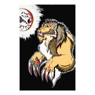 Werewolf 2 customized stationery