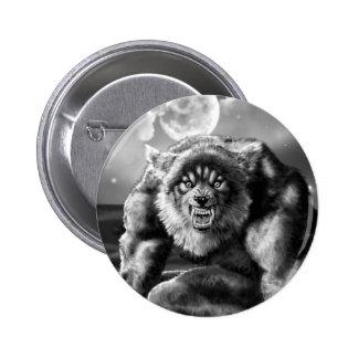 werewolf 2 inch round button