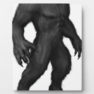 Werewolf #2 plaque
