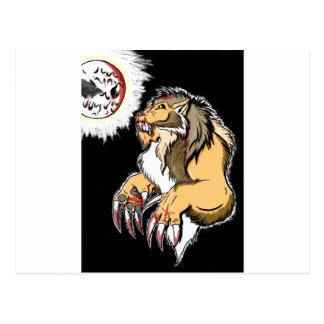 Werewolf 2 postcard