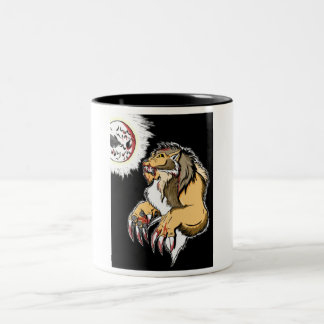 Werewolf 2 Two-Tone coffee mug