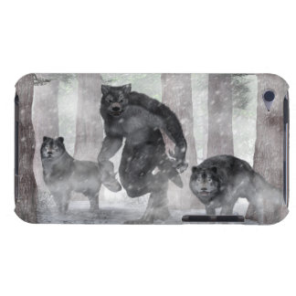 Werewolf and Wolves iPod Touch Case