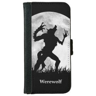 Werewolf at the Full Moon - Cool and Unique iPhone 6 Wallet Case