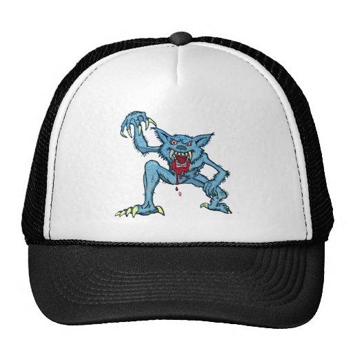Werewolf Attack Trucker Hats