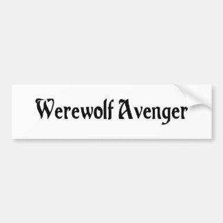 Werewolf Avenger Bumper Sticker