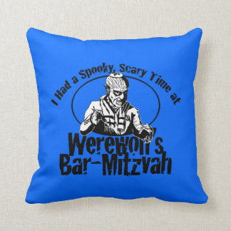 Werewolf Bar-Mitzvah Pillow