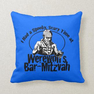 Werewolf Bar-Mitzvah Pillow