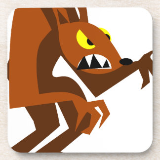 Werewolf Beverage Coaster