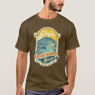 Werewolf bottle label (distressed) T-Shirt