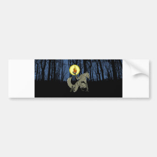 Werewolf Bumper Sticker