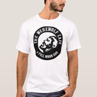 Werewolf Café (Logo Front/Website Back) T-Shirt