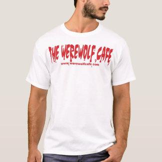 Werewolf Café (Website Front/Logo Back) T-Shirt