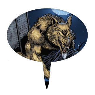 Werewolf Cake Topper