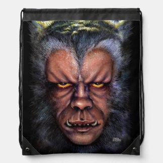 Werewolf Curse Drawstring Backpack