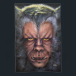 "Werewolf Curse Kitchen Towel<br><div class=""desc"">To lovers the moon is a thing of beauty. But to this man it is a deadly curse. When the moon is full, this poor miserably wretch turns into a hairy, snarling , half man - half beast! He prowls the night, his long claws and sharp teeth thirsty for human...</div>"