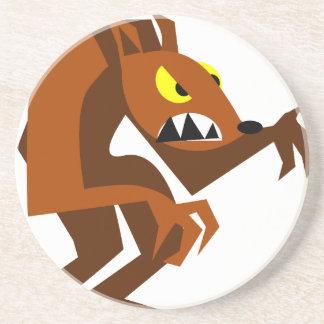 Werewolf Drink Coaster