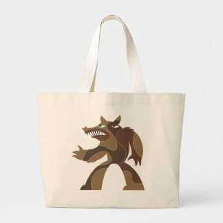 Werewolf Dude Canvas Bags