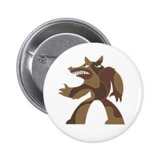 Werewolf Dude Pin