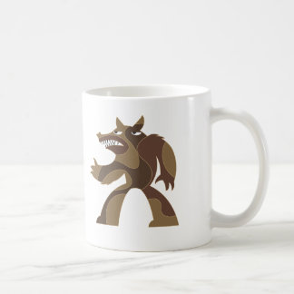 Werewolf Dude Classic White Coffee Mug
