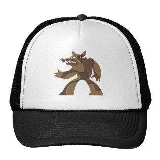 Werewolf Dude Trucker Hat